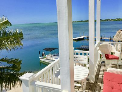 Photo for Luxurious Oceanfront Home on Beach w/Heated Pool, Dock, Kayaks, Bikes, Fire Pit