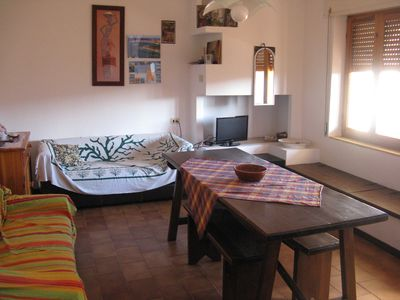 Photo for Apartment a stone's throw from the beach with Air Con