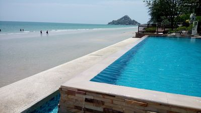 Photo for Perfect Longterm Seaview apartment@Huahin beach.