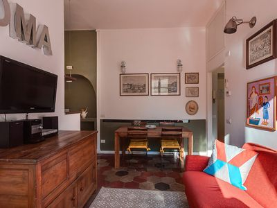 Photo for Elegant two bedroom apartment near the Colosseum