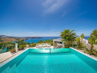 Photo for Minimalist villa overlooking the sea IBIZA