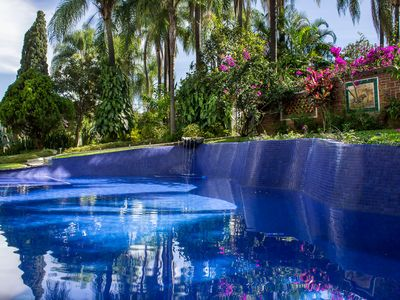 Photo for Villa Escondida Private for Couples,w/Manicured Gardens, Pool, Cabaña & BBQ.