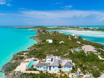Photo for Luxury Water Front Villa In Turks And Caicos Islands!
