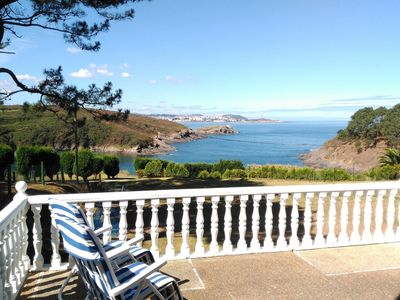 Photo for Nice apartment with spacious terrace and beautiful views of the Atlantic Ocean