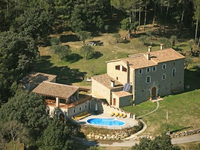Photo for Magnificent 1200m2 mansion, 35+ guests, 17 BR & 16 BA, huge pool, terraces, view