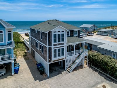 Photo for Ocean Paradise South | Oceanfront | Private Pool, Hot Tub, Dog Friendly