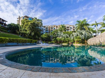 Photo for Luxury 2 BR Condo at the Diria Resort, walk to Tamarindo Beach! (Matapalo #202)