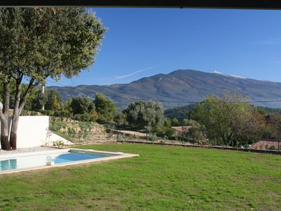 Photo for Holiday house in contemporary Provencal style with superb panorama.