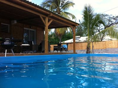 Photo for Pleasant villa with private access to the lagoon