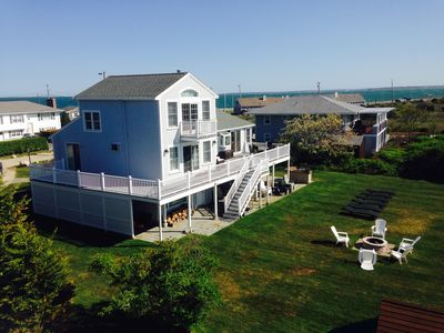 Photo for Exceptional, Rarely Available Contemporary Salt Water Beach Front Home