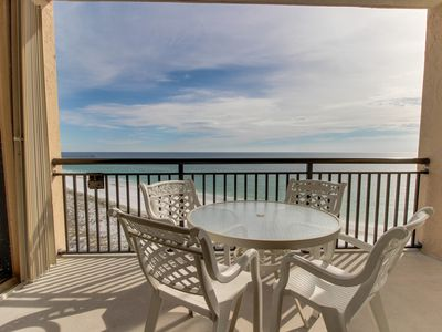Photo for Gorgeous waterfront condo w/shared pool, fitness room & sport court!
