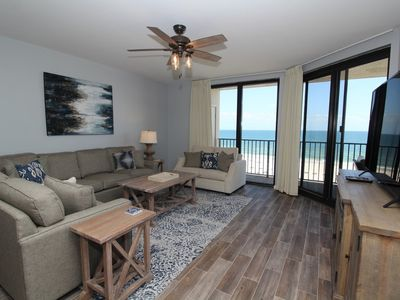Photo for Phoenix 10 603- Beach Front View, Large Terrace, Private Beach Access!
