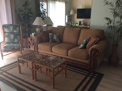 Sofa , queen size pull out bed