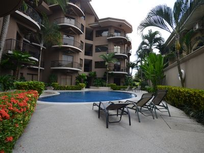 Photo for Jaco  Luxury Condominium, one block from the Beach