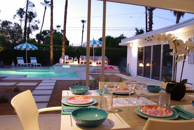 Indoor and Outdoor dining options