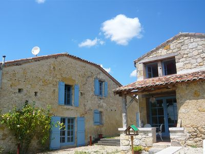 Photo for Outstandingly restored fortified 16th-century farmhouse near Condom