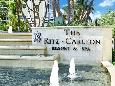 Photo for AMAZING APARTMENT AT THE RITZ CARLTON