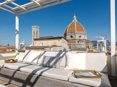 Photo for Mirage apartment in Duomo with WiFi, integrated air conditioning & private roof terrace.