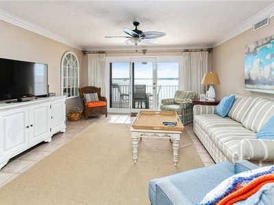 Photo for Great Family Oceanfront Condominium in the Heart of The Village. Oceanfront Pool!