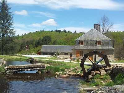 Photo for Cottage renovated on the ruins of the XV th Century, relaxation area (Jacuzzi) and swimming