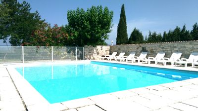 Photo for Gîte classified 3 stars *** with heated pool near the Gorges de l'Ardèche