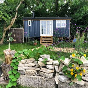Photo for Purbeck Shepherd Huts - Chapmans Pool