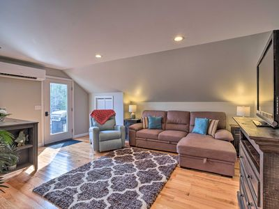 Photo for NEW! Dog-Friendly Brewer Apt w/BBQ & Hiking Access
