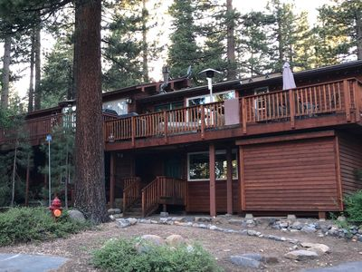 Photo for Recently Rennovated Lake Tahoe Home: 3 Bedroom, 2 1/2 Bath, Huge Deck