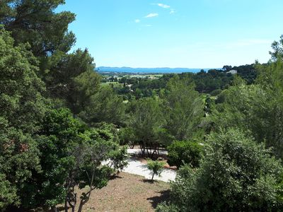 Photo for House full foot 60m² facing the islands of Hyeres