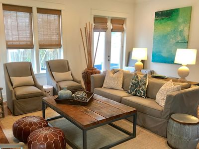 Photo for Spacious Home Steps from Beach & Community Pool Sleeps 12 Chairs & Bikes incl