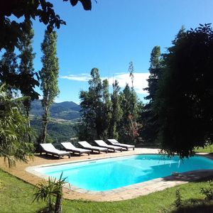 Photo for House in the countryside, private pool, 3000 m2 of land, breathtaking views
