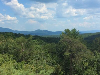 Picture yourself enjoying these long range views while relaxing on the deck.
