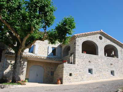 Photo for Cottage in southern Ardeche Vallon Pont d'Arc