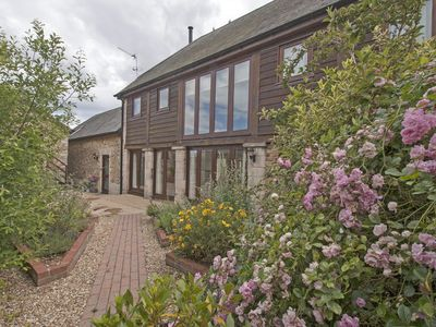 Photo for The Pillar Barn, stunning detached barn situated between Lyme Regis & Sidmouth