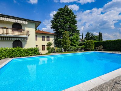 Photo for Sirmione Lake and Pool Apartment - Apartment for 4 people in Sirmione