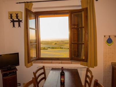 Photo for Apartment in terraced house with terrace and panoramic views, 2 rooms, 4 persons