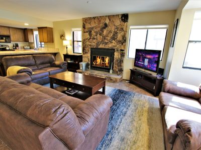 Photo for Summit Ski Shack: Just Steps to Snow Summit Resort, 3 Bed/2 Ba, Sleeps 8!