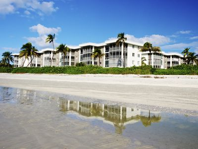 Photo for Bright, Beachfront Condo With Gulf And Garden Views!