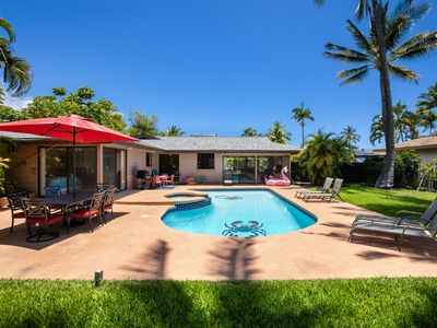 Photo for House, great location, He'eia Bay, private pool, backs up to golf course!