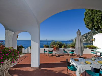 Photo for Villa Magenta over Positano