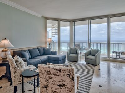 Photo for Luxurious Gulf Front Penthouse at Silver Shells Rooftop Deck /Pool/Beach Access