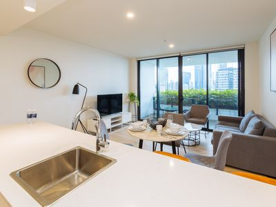 Photo for 2BR Apartment Vacation Rental in South Brisbane, QLD