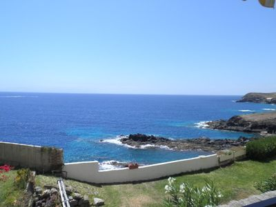 Photo for GREAT 1 BEDROOM APARTMENT RIGHT ON THE OCEAN FACING LA GOMERA