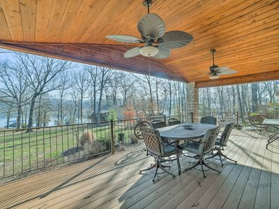 Photo for Home w/2 Decks & Fire Pit-Steps to Table Rock Lake