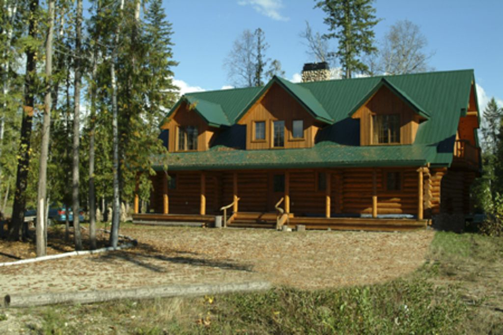 Luxurious 40 Bedroom Log Home With Hot Tub On The Golf Course Ashton Creek Cool Log Home Bedrooms