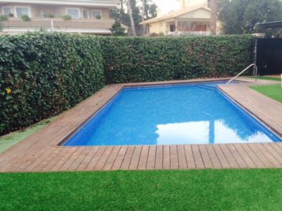 Photo for Family house with pool next to the beach