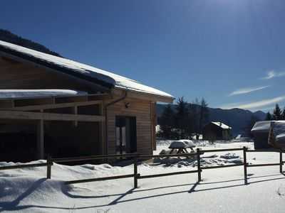 Photo for New wooden apartment 4/6 people in the Vercors