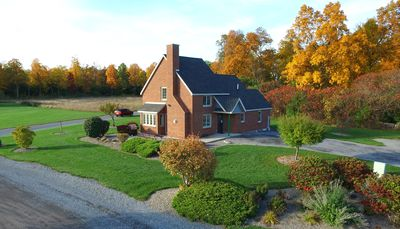 Photo for Beautiful Brick Built Cottage in the Finger Lakes Overlooking Seneca Lake