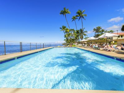 Photo for PARADISE IN PUAMANA 177-1 73 STEPS TO THE OCEAN (3 KING BEDS)
