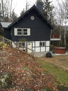 Photo for seasonal rental welcome, 3 miles from slopes, Hot Tub, WIFI, direct acce